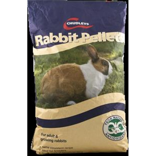Rabbit pellets, 20 kg