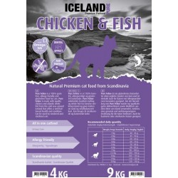 Iceland Cat - Chicken & Fish