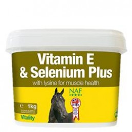 Vitamin E and Selenium Plus