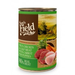True Chicken & Calf Meat W/ Carrot For Puppies - Vådfoder: 6stk.
